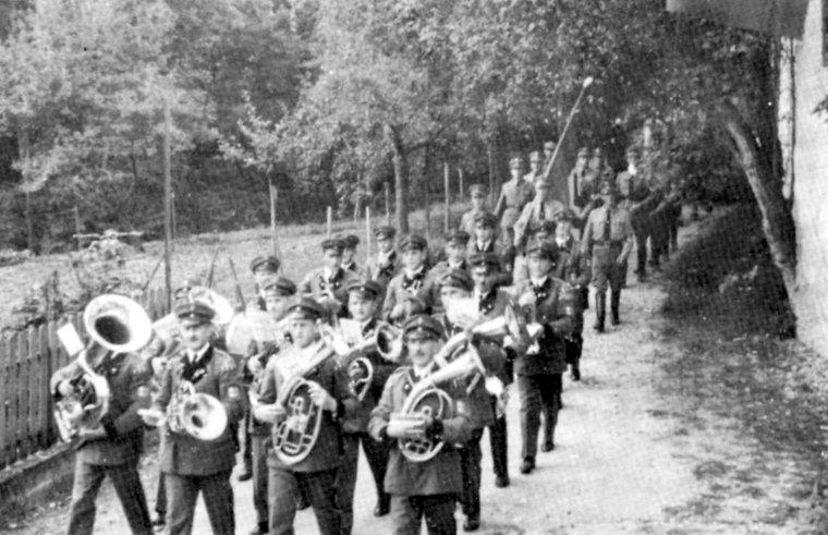 Der Musikverein im Jahre 1937