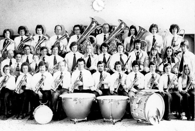 Der Musikverein im Jahre 1975