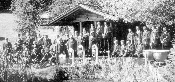 Der Musikverein im Jahre 1980