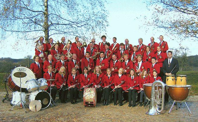 Der Musikverein im Jahre 2004